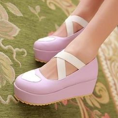 Sidewalk - Cross-Strap Ballet Dance Shoes