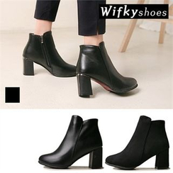 Wifky - Fleece-Lined Ankle Boots
