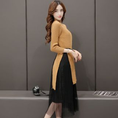 Romantica - 针织衫半裙套装