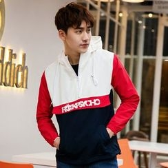 Esflow - Panel Hooded Jacket