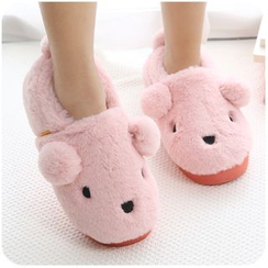 Momoi - Fleece Home Slippers