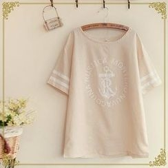 Fairyland - Short Sleeves Print T-shirt