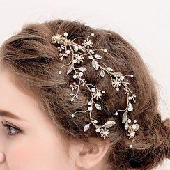 Neostar - 新娘樹葉髮夾