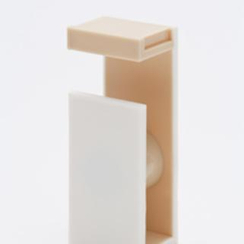 mt - mt Masking Tape : mt tape cutter 2tone (White x Camel)