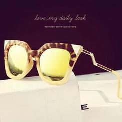 MOL Girl - Geometry-Temple Sunglasses