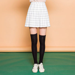 chuu - Check Mini Skirt