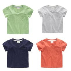 lalalove - Kids V-Neck Short-Sleeve T-Shirt