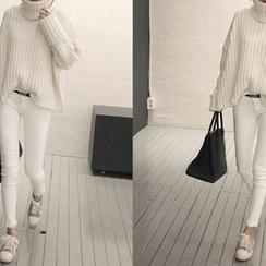 NANING9 - Brushed-Fleece Pants