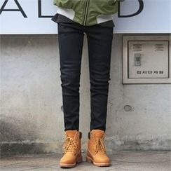 Superstar.i - Fleece-Lined Straight-Cut Jeans