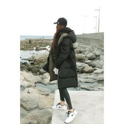 ATTYSTORY - Hooded Puffer Long Coat
