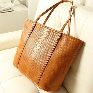 Miss Sweety - Croc-Grain Tote
