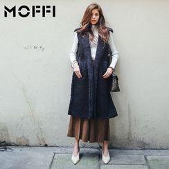 MOFFI - Fleece Lined Long Vest