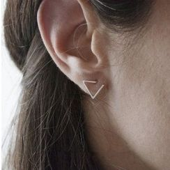 Seirios - Triangle Stud Earrings