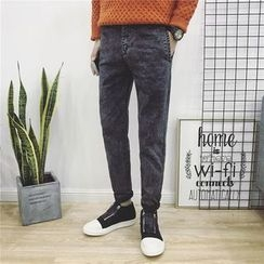 JORZ - Straight-Cut Washed Jeans