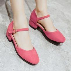 Sidewalk - 扣带平跟鞋