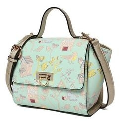 Princess Carousel - Faux Leather Print Hand Bag
