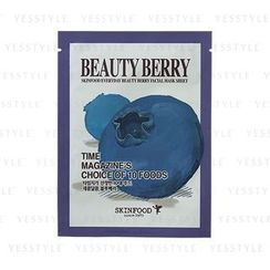 Skinfood - Everyday Beauty Berry Facial Mask Sheet