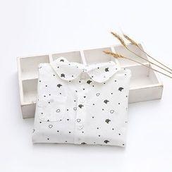 Seashells Kids - Kids Cat Print Long-Sleeve Shirt