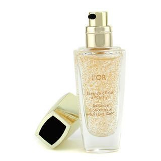 L'Or Radiance Concentrate with Pure Gold Makeup Base
