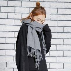 Sonne - 流蘇超長圍巾