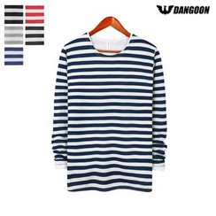 DANGOON - Couple Striped T-Shirt