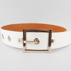 Goldenrod - Faux Leather Belt