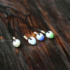 Porcelana - Stone Pendant Necklace