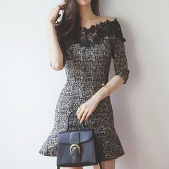 Yilda - Tweed Sheath Dress