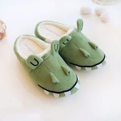 March Daisy - Crocodile Home Slippers