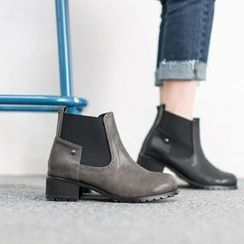 VIVIER - Banded-Detail Ankle Boots