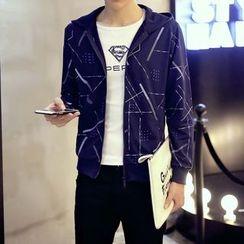 Alvicio - Printed Hooded Jacket