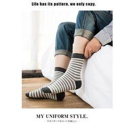 BEANS - Striped Socks