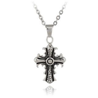 Menku - Engraved Cross Pendant