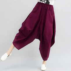 Fashion Street - Plain Harem Pants