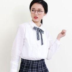 三木社 - 蝴蝶结领衬衫