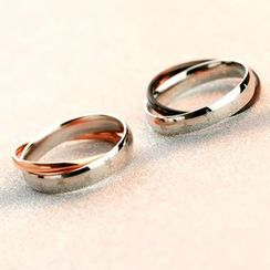 LoveGem - Couple Matching Layered Ring