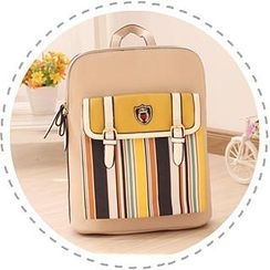 Canvas Love - Striped Backpack