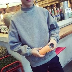 Jimboy - Mock Neck Sweatshirt