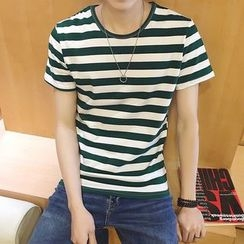 Bay Go Mall - Striped T-Shirt