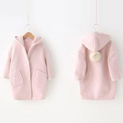 Spring Swallow - Kids Pompom-Accent Coat