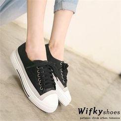 Wifky - Toe-Cap Platform Sneakers