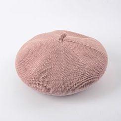 M.O.H - 針織貝雷帽