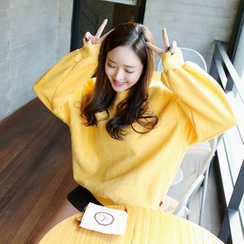 Envy Look - Fleece-Lined Oversized Pullover