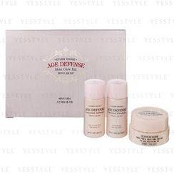 Etude House - Age Defense Skin Care Kit: Softener + Emulsion + Cream