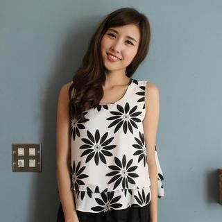 Mini Jule - Chiffon Tank Top