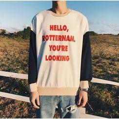Bestrooy - Lettering Sweatshirt