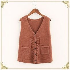 布衣天使 - 針織馬甲