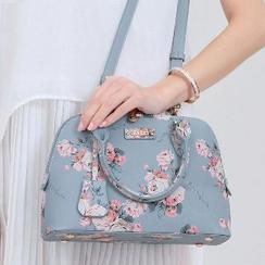 花心小铺 - 印花手提包