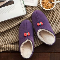 iswas - Faux-Fur Lined Slippers