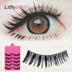 Litfly - Eyelash #106 (5 pairs)